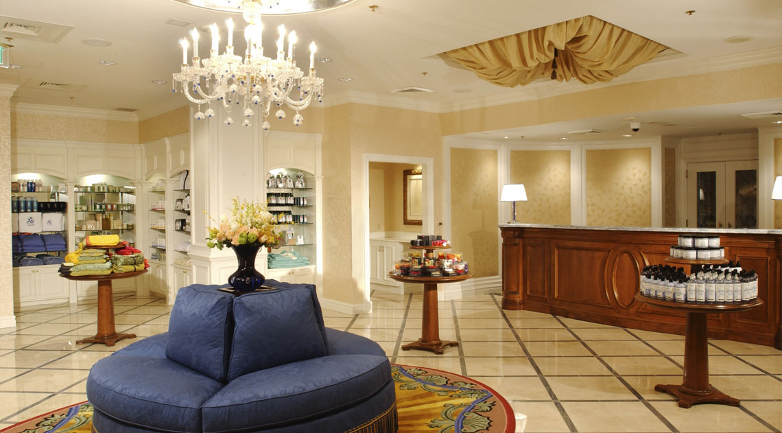 Broadmoor Spa Reception